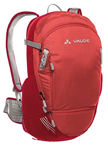 VAUDE Rucksack Splash - Mochila de ciclismo, color rojo, talla 47 x 29 x 3 cm, 25 l
