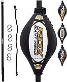 RDX Doppio Fine Velocità Palla Tesa Pelle Dodge Speed Bag Veloce Boxe Allenamento Pugilato
