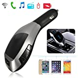 Microware X5 FM Transmitter Car Kit MP3 Wireless Bluetooth SD LCD Charger Handsfree