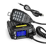 qyt KT-8900d 25W Dual Band mini Mobile Transceiver Radio a due vie S136~ 174/400~ 480MHz quadst andby Amateur Radio Auto + Cavo di programmazione di Ligh twish