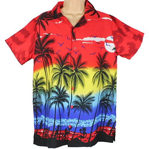 red-hawaiian-shirt-party-fancy-dress-beach-palm-tree-shirt-stag-party-xl