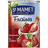 st mamet Fraises au sirop riche en vitamine C, Sans coservateur. - ( Prix Unitaire ) - Envoi Rapide Et Soignée