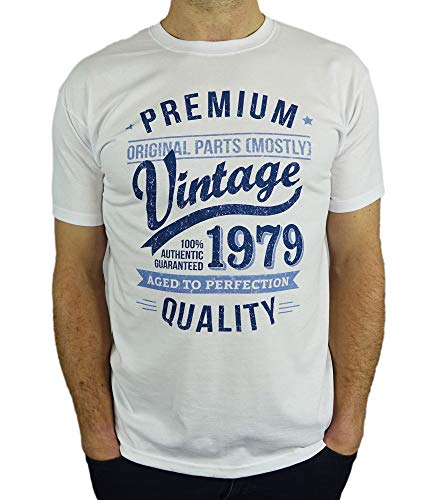 eba0ff7bbdcfd 1979 Vintage Year - Aged To Perfection - 40th Birthday Gift   Present Mens  T-