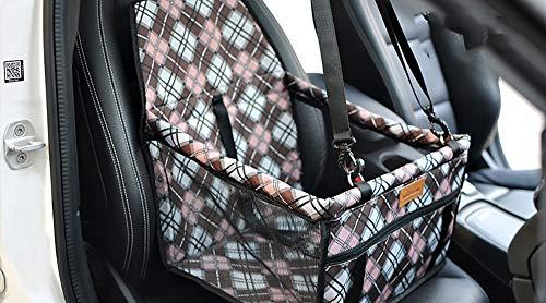 Booster Kit (YAJAN-PetBag Pet Car Kit Booster Sitz Hund Matten Erhöhte Sitz Pet Produkte Sicherheitsnetz Wasserdicht Unglased)
