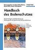 Handbuch des Bodenschutzes: Bodenökologie und -belastung/Vorbeugende und abwehrende Schutzmaßnahmen