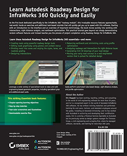 Autodesk Roadway Design for InfraWorks 360 Essentials: Autodesk Official Press