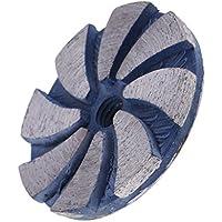 B Baosity 1 Pc Rueda Abrasiva de Diamante Herramienta de Albañilería de Piedra de Material Metal - Multicolor, 60 mm