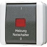 Jung 802HW Heizung-Notschalter aus 2-polig
