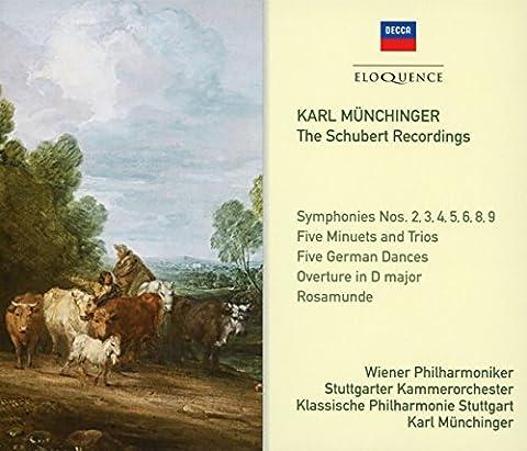 Schubert Recordings/Symphonies/5 Minuets and Trios/Rosamunde