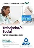 Trabajador/a Social del Servicio Andaluz de Salud. Test del Temario Específico