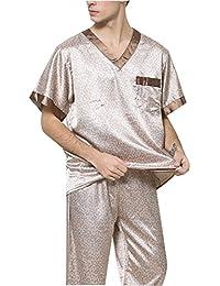 Mens sleepwear Conjunto de Pijama para Hombre y niño – Conjunto de Pijama a Juego,