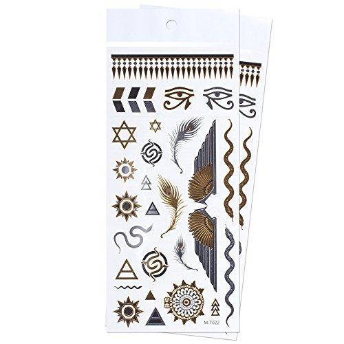 zookyr-braccialetto-simboli-egiziani-occhio-di-horo-gioielli-tatuaggi-temporanei-impermeabili-adesiv