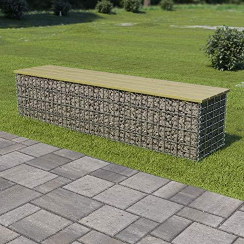 Steinkorb Ideal zur Anbringung an der Terrasse