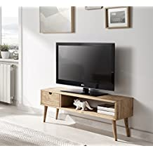 meuble tv bois. Black Bedroom Furniture Sets. Home Design Ideas