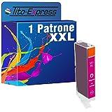 PlatinumSerie® 1x Patrone XXL kompatibel zu Canon CLI-551XL Rot 12 ml Inhalt Tintenstrahldrucker