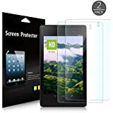 JETech 2-Pack Google Nexus 7 FHD (2nd GENERATION) 2013 Tablet Premium High Definition (HD) Clear Screen Protector (HD Clear)