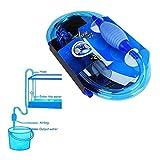 Cambiadores de Agua para Acuario,Bomba Manual para Limpieza de Acuario,Cambiador De Limpieza Tanque del Peces