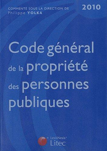 Code gnral de la proprit des personnes publiques