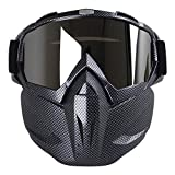 Aolvo Motorradbrillen-Maske