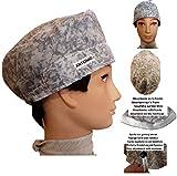 Surgical caps, Haube, kappe, Medizinische, küche, Für kurze Haare. Grauwasser. Mit Ihrem Namen auf freie Optionen.