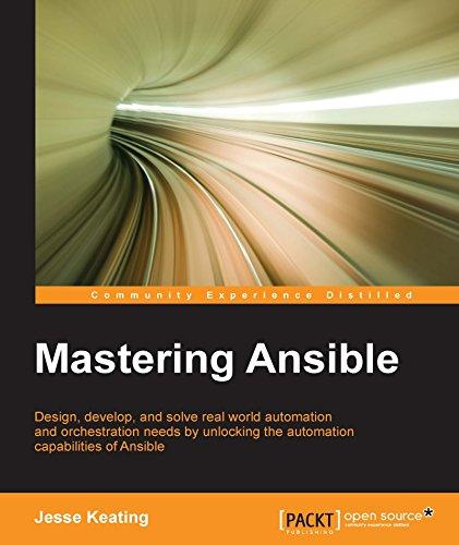 Mastering Ansible (English Edition) por Jesse Keating