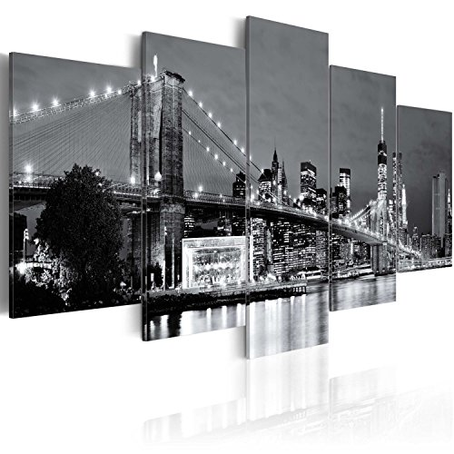 Murando - Cuadro Lienzo 200x100 cm New York Impresión