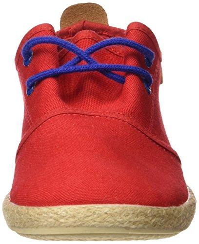 Cheiw  47108, Basket , garçon Multicolore - Pique rojo / Napa pu camel