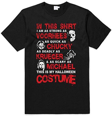 Jason Voorhees, Chucky, Freddy Krueger & Michael Myers Halloween Costume T-shirt