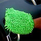 House Cleaning and Car Wash Mitts Home Dusting Microfiber Gloves Washing Clean Polish FasterÃ'Â1-Pc