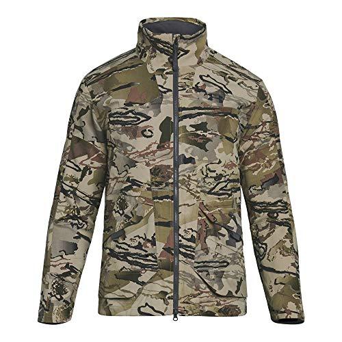 Under Armour Herren Grit Jacket Jacke, Ua Barren Camo (999)/Black, Small