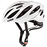 UVEX Helm Boss Race, White, 52-56 cm, 4102290215