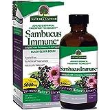 Nature's Answer Extraits de sureau noir - Sans alcool - Pour renforcer le système immunitaire - 120 ml