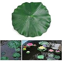 Sourcingmap® Planta Acuario Verde Espuma Hoja De Loto Estanque Decoración del Ornamento Flotante De 60