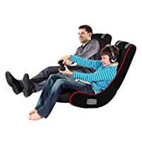PLAYSTATION IPAD GAMING CHAIR ADULTS KIDS CYBER ROCKER PLAY MUSIC IPHONE TABLET