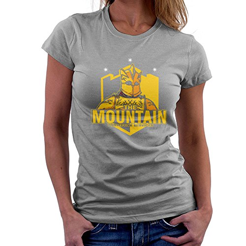 The Mountain Protective Services Gregor Clegane Game Of Thrones Women's T-Shirt Heather Grey