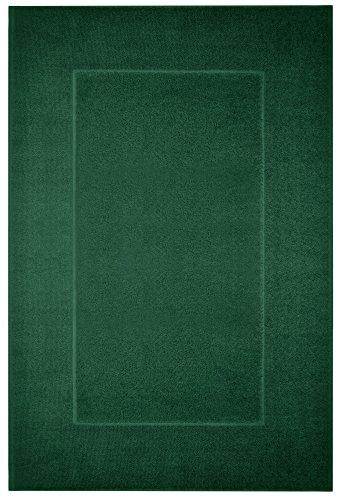 Lashuma Badteppich Grün - Tanne, Klassischer Duschvorleger, Antirutschmatte, Prestige 60 x 90 cm