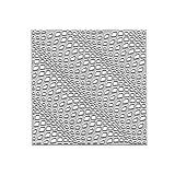 Welle Quadrat Gitter Metall Stanzformen Schablone DIY Scrapbooking Album Stempel Papier Karte Präge...