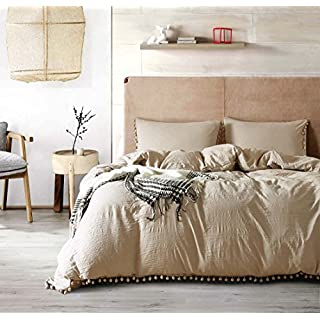 GUEQUITLEX Duvet Cover Set - 3 Piece bedding Premium Diamond Stitched bedspread - Wrinkle, Fade, Stain Resistant bedspreads - Hypoallergenic - Ultra-Soft Luxurious Lightweight All Season Bedspread