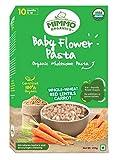 Mimmo Organics Baby Flower Lentils Pasta | 10 Months & Up |Lentils, Wholewheat