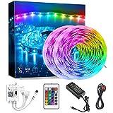 Innoo Tech LED Strip Lights, Bluetooth APP Control Works with Alexa and Google Home, Remote control 5050 Smart RGB LED Lights