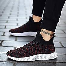 YAYADI Calzado Deportivo Niños Zapatillas Hombre Adulto Macho Caminar Trotar Transpirable Zapatos De Atletismo Inferior Hueco