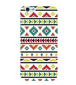 FUSON Ethnic Seamless Vector 3D Hard Polycarbonate Designer Back Case Cover for Apple iPhone 6S