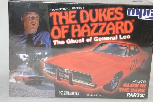 Dodge Charger 1969 General Lee The Ghost Dukes of Hazzard Kit Bausatz 1/25 1/24 Amt Modell Auto Modell Auto