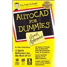 Autocad for Dummies Quick Reference by Ellen Finkelstein (1995-04-02)