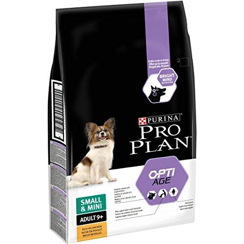 PRO PLAN Small & Mini Adult 9+ with OPTIAGE Riche en Poulet - 7 KG - Croquettes pour petits chiens de 9 ans et plus