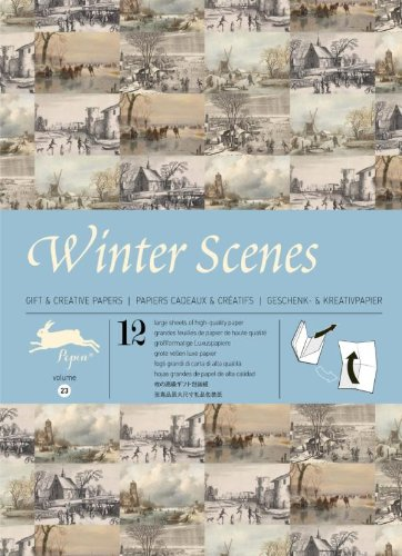 Winter Scenes: Gift Wrapping Paper Book Vol. 23: 1 (Gift & creative papers (23))