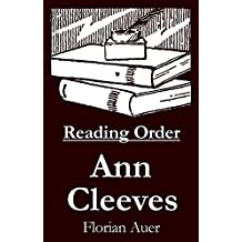 Ann Cleeves - Reading Order Book - Complete Series Companion Checklist (English Edition)