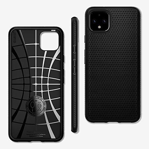 Spigen, Liquid Air, Designed for Google Pixel 4 Case (2019) - Black