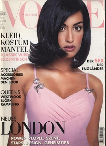 VOGUE, Deutsch, October 1995. Neues London: Power-People, Szene, Stars, Design, Geheimtips. Kleid, Kostüm, Mantel. Klassik wird exzentrisch. Special: Accessoires machen den Look. Queens: Westwood, Björk, Rampling. Der Sex der (Ein Machen Star Kostüm)