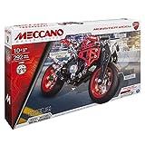 Meccano Elite Motorcycle Ducati Juego de construcción de varios modelos de vehículos 292pieza(s) - Juegos de construcción (Juego de construcción de varios modelos de vehículos, 10 año(s), 292 pieza(s), Negro, Metálico, Rojo, Metal, China)